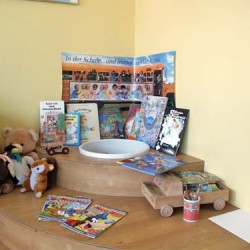 Kinder-Spiel-Ecke